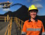 Izzy Dickinson mining engineer